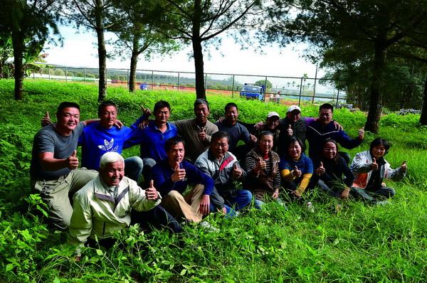 一群有機小農友善對待土地,生產健康的農產品。(柏原祥攝)