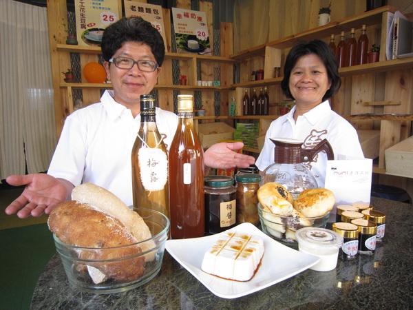 mumi手作坊食品與健康兼俱、食品多樣驚喜層層,總令人想一去再去。(林子婷攝)