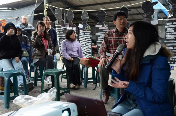 內埔農業訪調分享會 青年關心台灣的農業