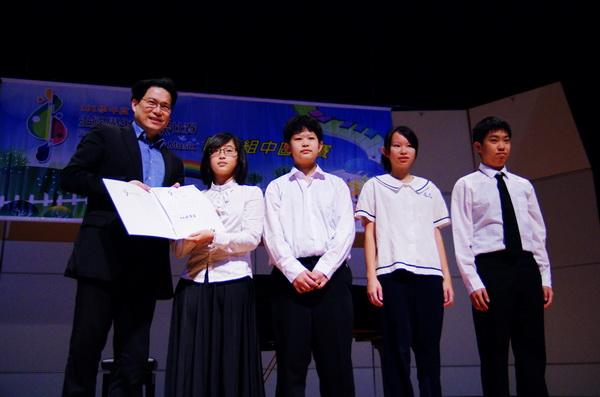 大成國中弦樂團勇奪全國學生音樂比賽特優。(圖/校方提供)