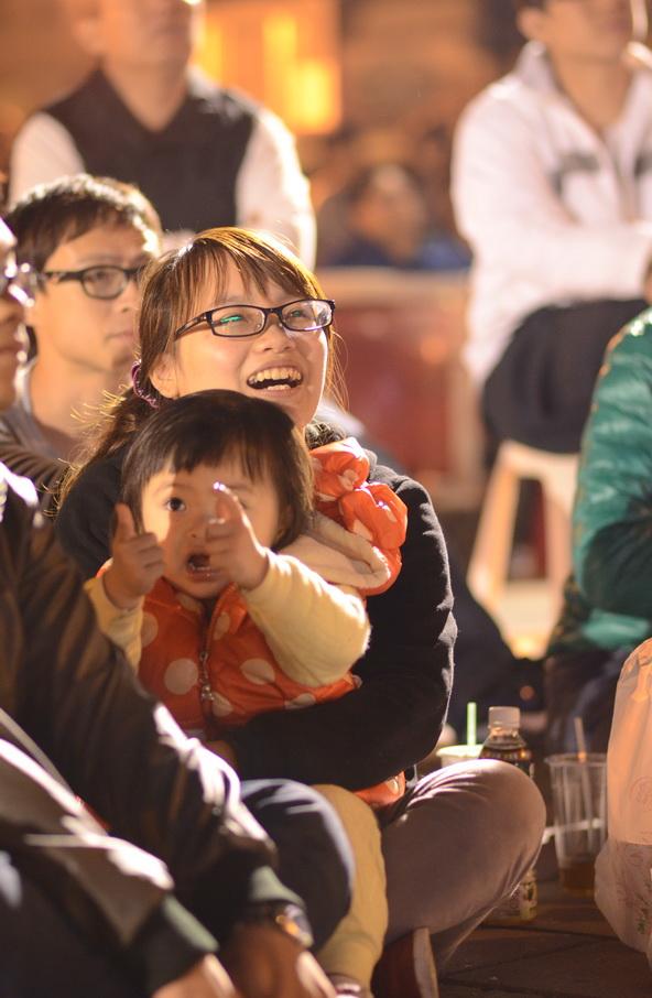 埔里仁愛公園看棒球