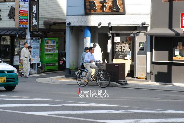 埔里可能和京都一樣成為單車友善城市嗎?(陳巨凱攝)
