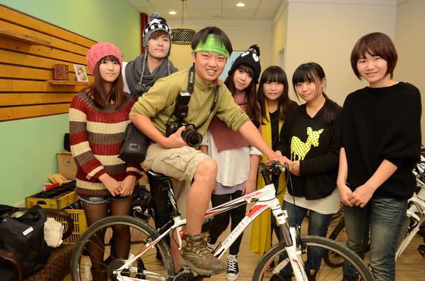 順騎自然,陳巨凱,單車租賃,租腳踏車,埔里腳踏車步道,慢活,樂活,慢經濟
