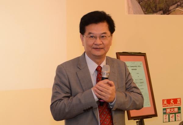 暨南大學校長蘇玉龍認為水沙連人文創新與社會實踐研究中心的成立,是環境、時勢下所自然生成的。(柏原祥攝)