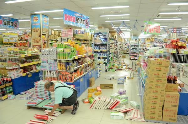 602地震,中央氣象局,地震測報中心,仁愛鄉,地震,餘震,盲斷層,斷層,郭鎧紋