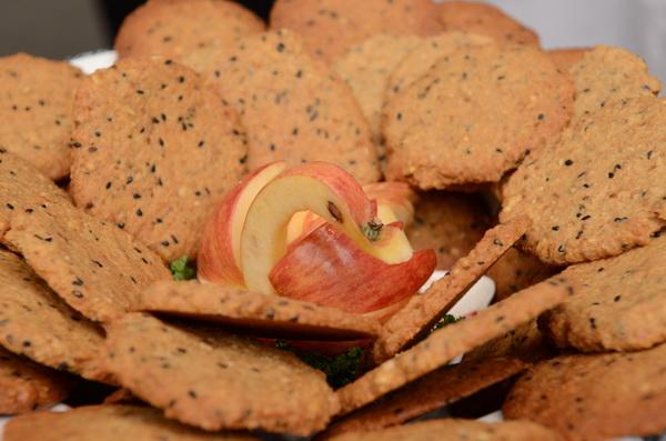 陳綢少年家園烘焙教室學員烤的餅乾。(柏原祥攝)