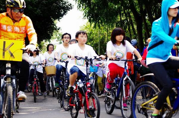 世界無車日不是單純的運動,而是環境省思的活動。(陳里維攝)