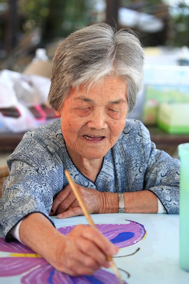 內加道,桃米,長青,繪畫,樸素藝術