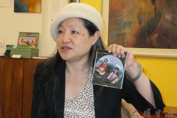 人物畫家劉秀美創作貼近社會底層,充滿批判色彩。(唐茹蘋攝)