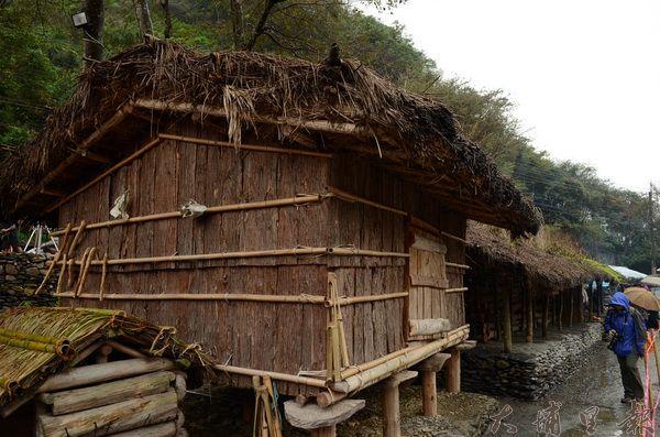 仁愛鄉賽德克族傳統家屋