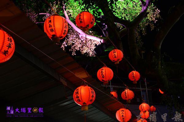 魚池鄉三獻清醮燈籠