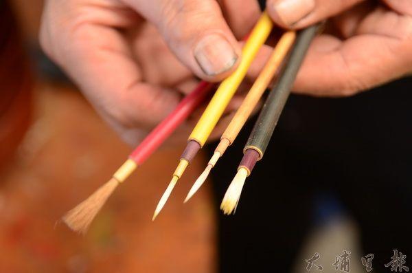 埔里龍南漆器毛筆