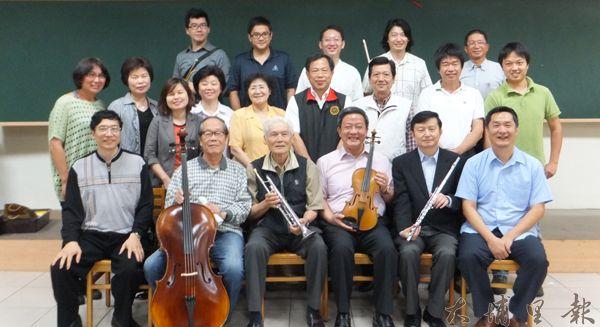 「埔里Butterfly交響樂團」發起人皆為地方藝文及政商界人士。(唐茹蘋攝)