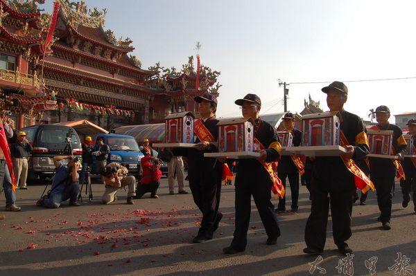 埔里恒吉宮媽祖廟建廟已有190年的歷史。(柏原祥攝)