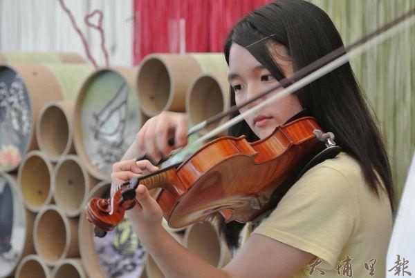 butterfly交響樂團成員來自埔里子弟,樂團成形,小鎮有機會成為音樂人才的搖籃。(圖/新故鄉基金會提供)