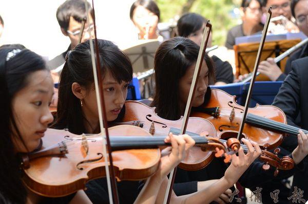 埔里Butterfly交響樂團演出
