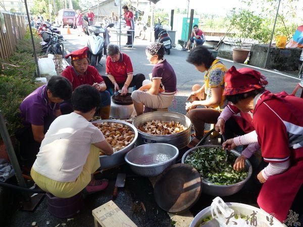 洪安雅族午餐