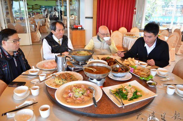 牛耳藝術渡假村推出鱘龍魚年菜,養生又美味。(柏原祥攝)