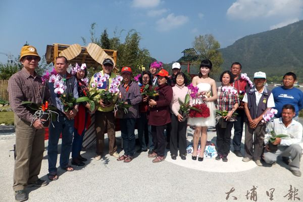 牛尾社區花卉產業為區內第二大宗產業,質量俱佳。(唐茹蘋攝)