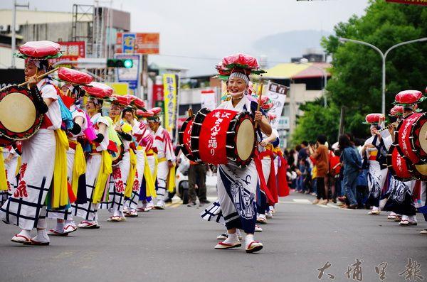 埔里日本演舞
