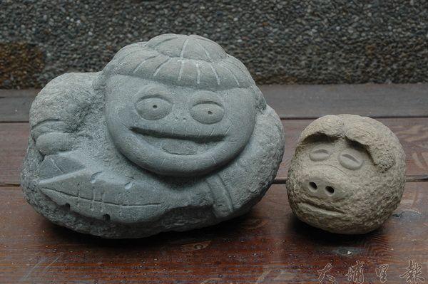 番婆鬼石雕