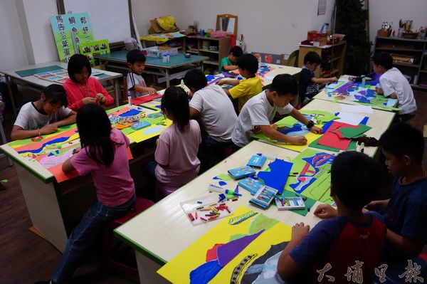 偏鄉孩童更需要美學教育,藉此培養解決問題能力,拉近城鄉差距。(圖/石鈴提供)