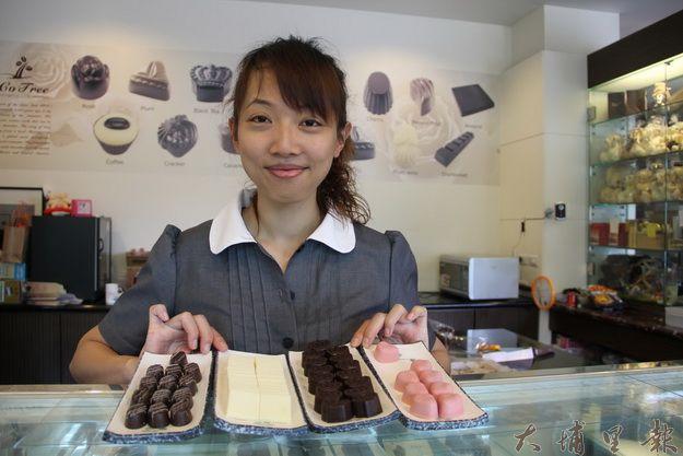 可可樹巧克力工坊主人徐惠琳(黃彥文攝)