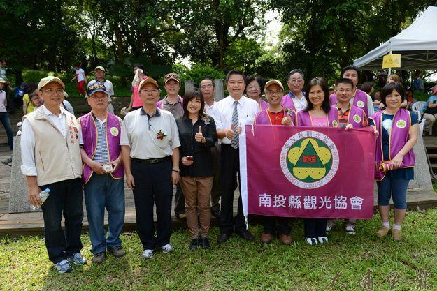 南投縣觀光協會理事長吳錦坤,誓言打造優質觀光。(顏峻瑜提供)