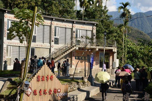 清流部落餘生紀念館在電影《賽德克‧巴萊》熱映期間,遊客曾絡繹不絕。(柏原祥攝)