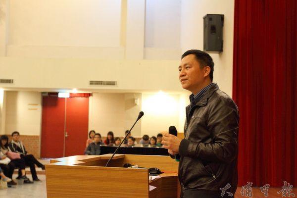 現年43歲的王丹,仍是老驥伏櫪,有一顆沸騰而不老的心。(炎男攝)