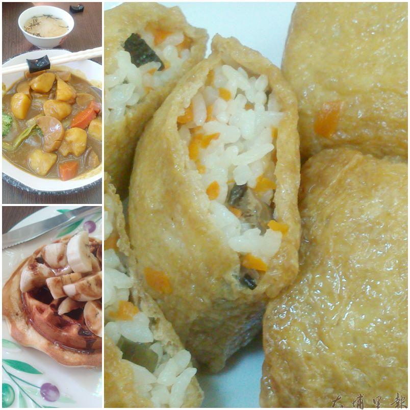 樂活小屋餐點清爽健康,是暨大同學們喜愛的小店。(圖/暨大水電工團隊)