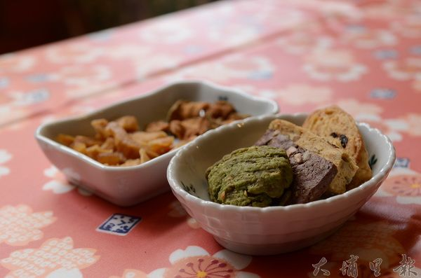 手工餅乾口味多元,奶素可食。(柏原祥攝)