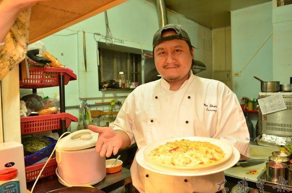 陳偉光出身高級法義餐廳,現做平價義式料理。(柏原祥攝)