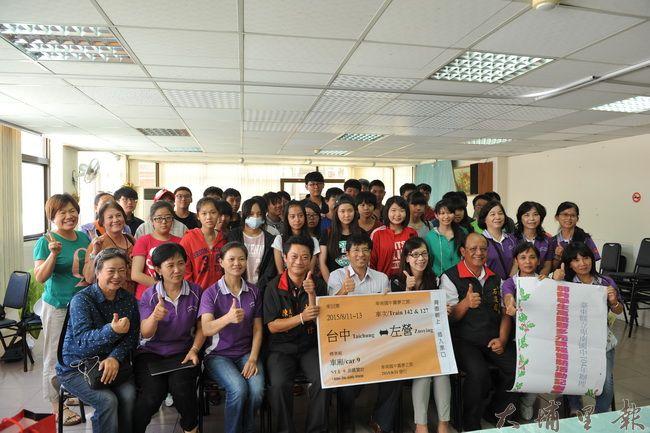 台東市卑南國中弱勢家庭學生台灣中西部之旅得以成行,是許多熱心人士所促成的。(柏原祥攝)