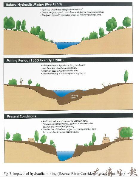 國外幾個「還地於河」工程規劃設計手法。(圖片來源:Factsheet Room for the River)