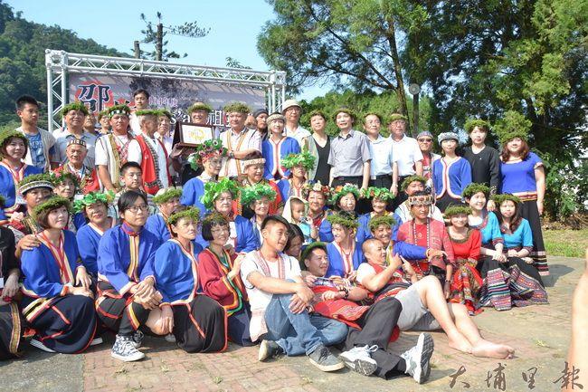 魚池鄉邵族新年祭典「邵族Lus'an(祖靈祭)」獲文化部指定為國家重要民俗。(圖/縣府提供)