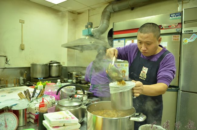 迦南美地麵食館不僅是家麵店,也是康復之友的庇護工場。(柏原祥攝)
