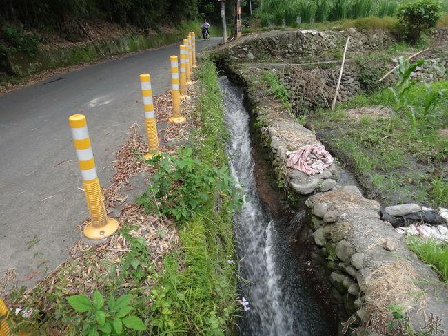 埔里灌溉溝渠綿密,如果灌排不分離,工廠廢水可能污染農作。(柏原祥攝)