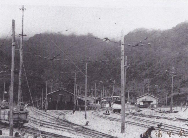 電車道的終點站在埔里麒麟里的東埔。(潘樵提供)