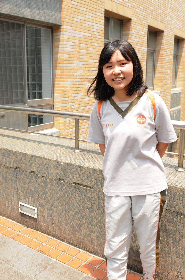 莊凱晴繁星計畫錄取第一志願臺灣科大,但她最大的夢想不是升學,而是當個傳道。(柏原祥攝)