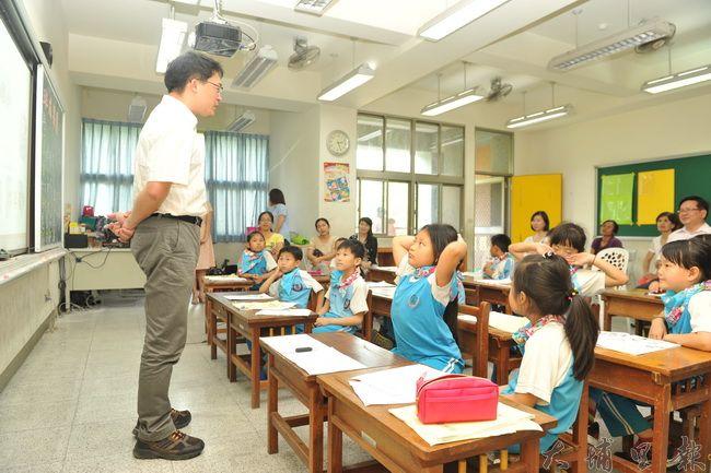 南光國小推動客語教學,收到不錯的成效。(柏原祥攝)