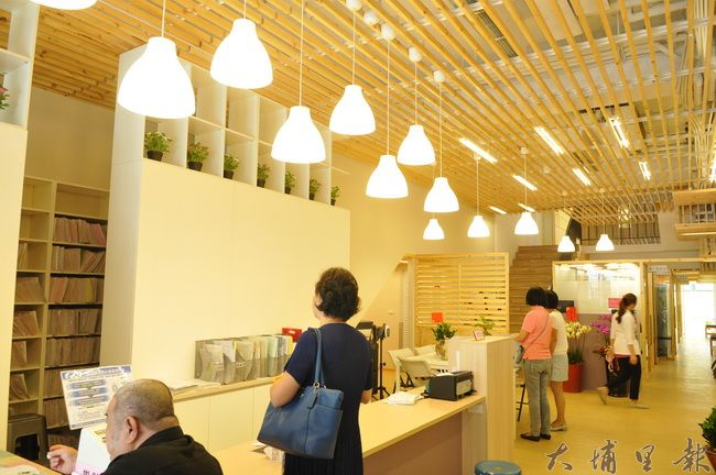 陳宏麟診所大樓啟用,內部看診空間相當寬敞。(柏原祥攝)