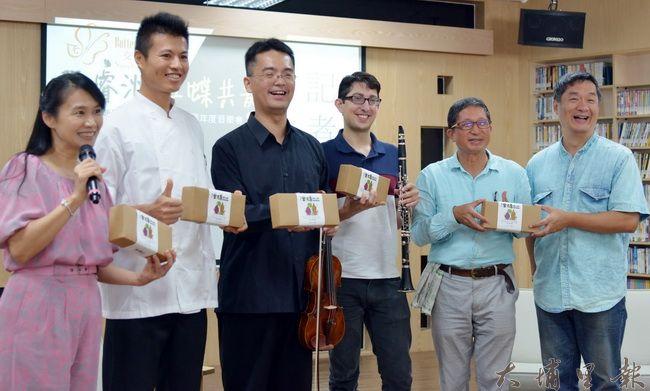 Butterfly樂團將再度公演,紙教堂亦將新產品金磚地瓜酥售價5%支持BUTTERFLY樂團(何貞青 攝)