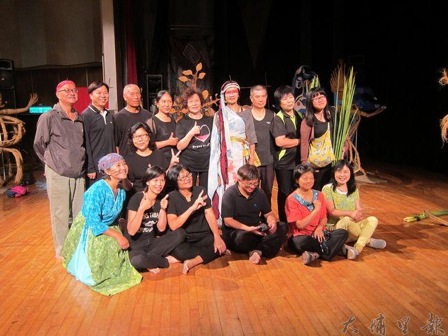 差事劇團與珠子山劇團演出成功。(金城嚴 攝)