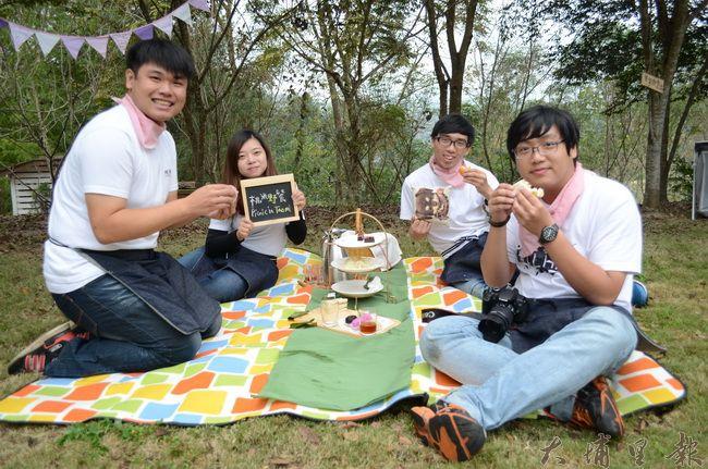 表現出色的「桃米野餐」團隊,展現埔里軟實力。(金城嚴 攝)