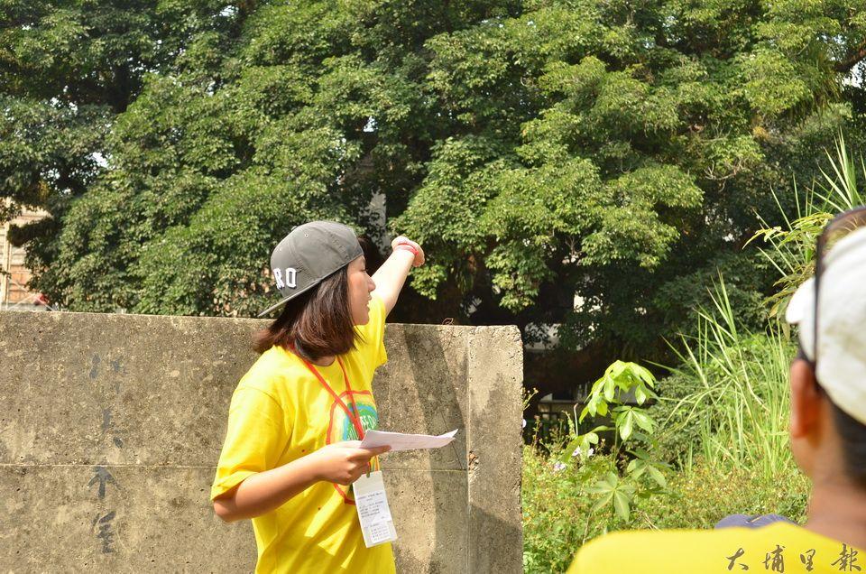 在吳宗憲買下民宿,開放圍牆鐵門前,要看千年茄苳樹王公,只能隔著圍牆與空地遠觀。(柏原祥 攝)