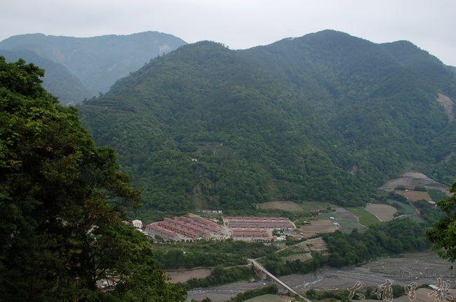 新瑞岩部落,位於舊部落下方河階地。(柏原祥 攝)