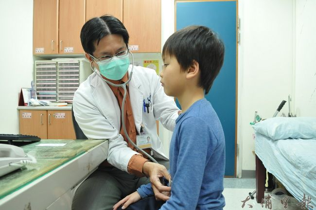 埔基醫院發現,諾羅病毒在埔里地區大爆發,近日許多孩童出現急性腸胃炎症狀。(柏原祥 攝)