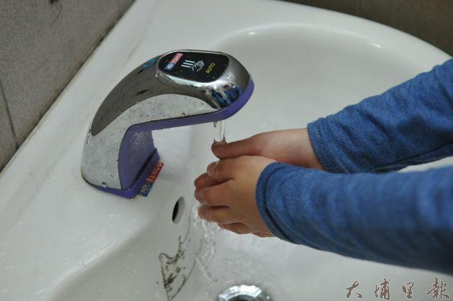 要預防諾羅病毒,常以肥皂洗手是最基本的防治方法。(柏原祥 攝)