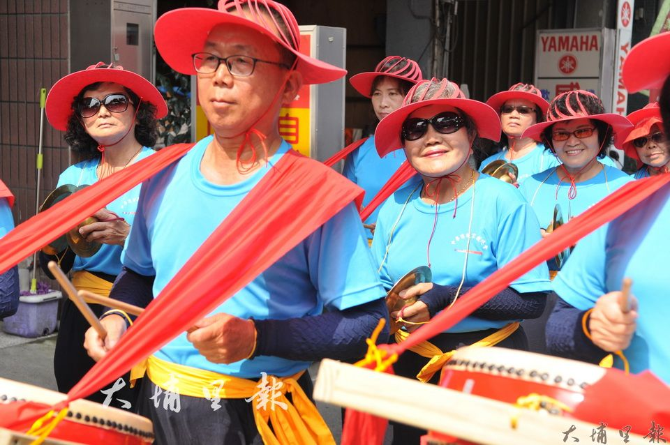 埔里媽祖文化節,地方陣頭宮廟參與相當熱鬧。(柏原祥 攝)